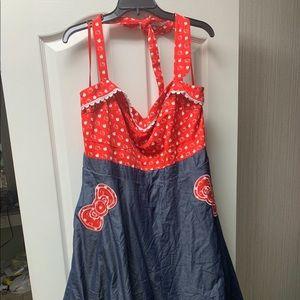 Hello Kitty halter dress